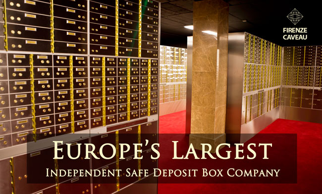 Safe Deposit Box Firenze